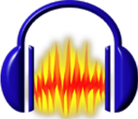 Audacity logo, icon- Best Free Open Source Audio Editing And Music Maker Software