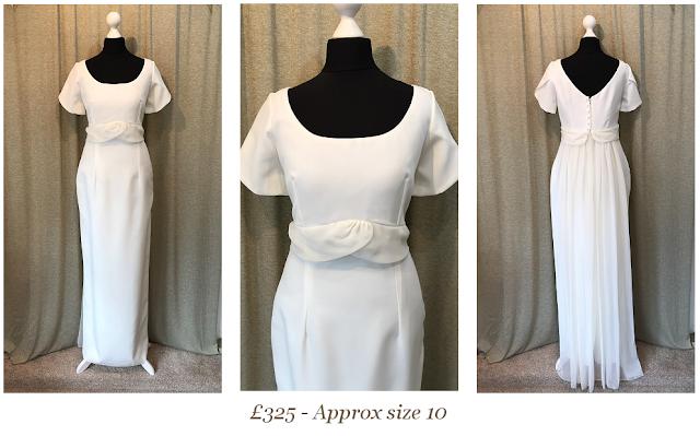 1960s short sleeve vintage wedding dress available from vintage lane bridal boutique bolton manchester