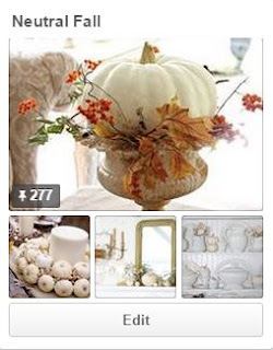 Neutral Fall Pinterest board: The Charm of Home