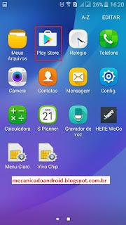Como instalar aplicativos da Play Store