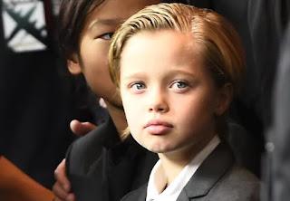 Pax Jolie-Pitt and Shiloh Jolie-Pitt