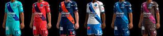 Puebla FC Kits 2016-2017 Pes 2013