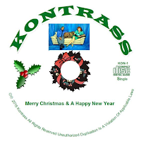 Kontrass - Contemporary Asian Fusion - Texas, USA - merry christmas and a happy new year CD -