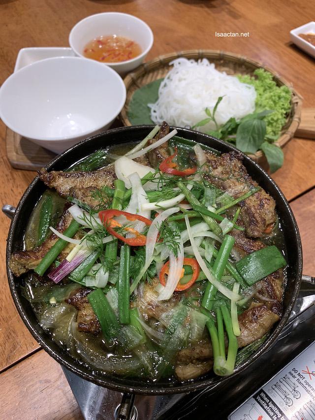 CHẢ CÁ LÃ VỌNG (Hanoian Style Fish with Turmeric & Dill) - RM23.90 ala carte / RM27.90 Set