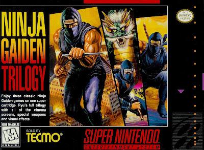 Rom de Ninja Gaiden Trilogy - SNES - Em Português - Download