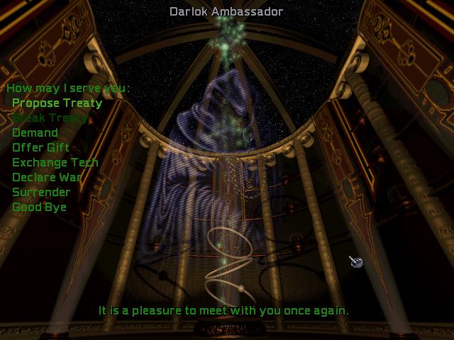 Screenshot of Master of Orion II