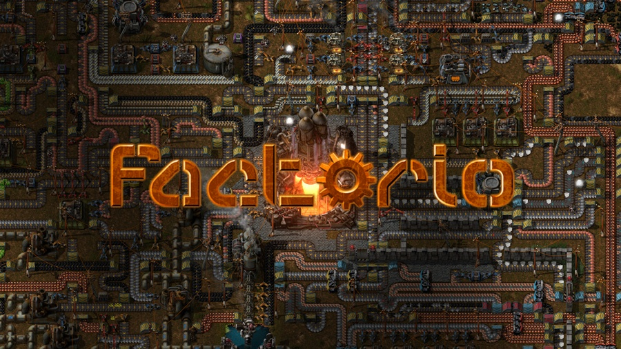Factorio PC Game Free Download Poster