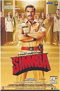 Simmba (2018) Full Movie Hindi HDRip 1080p | 720p | 480p | 300Mb | 700Mb
