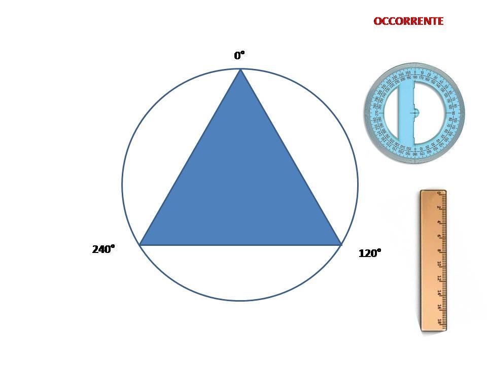 Ritagli Di Scuola Costruzione Di Un Triangolo Equilatero