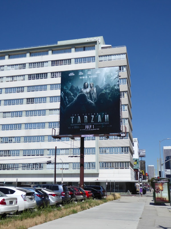 Tarzan movie billboard