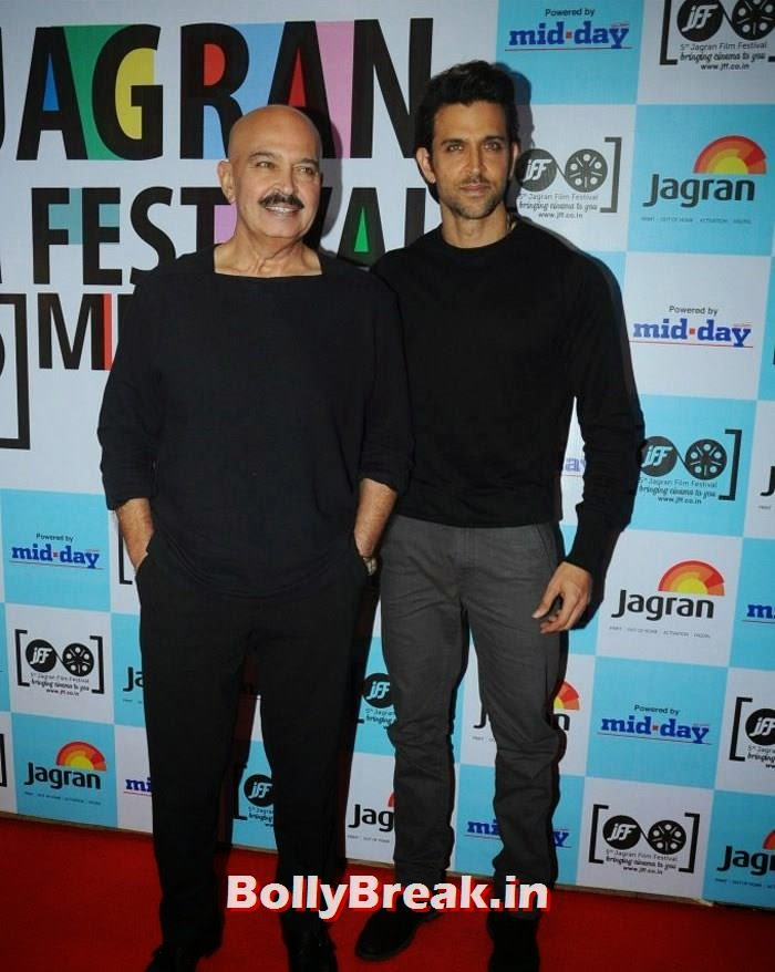 Rakesh Roshan, Hrithik Roshan, 5th Jagran Film Festival Red Carpet Pics