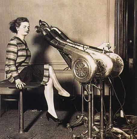 Peralatan Salon Kecantikan Antik