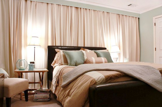 Curtain The Entire Wall It Adds Soft Texture And Will Allow You To Place Furniture Anywhere Can Even Hang Artwork In Front Of Curtains