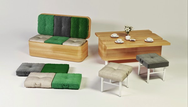 Innovative And Cool Convertible Sofa Designs (10) 8