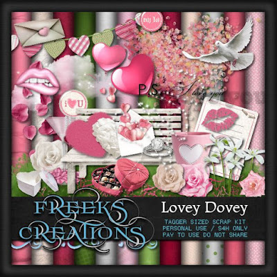 ★•★CT for Freeks Creations★•★ Lovey Dovey