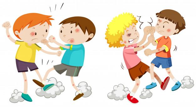 Resultado de imagem para briga de meninos