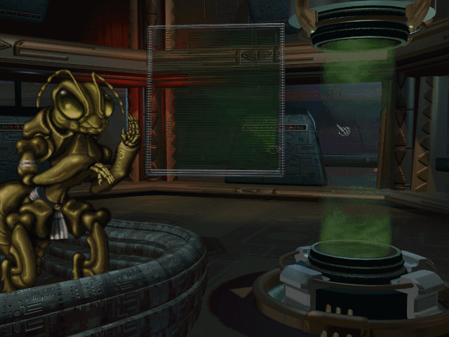Screenshot of Klackons from Master of Orion II