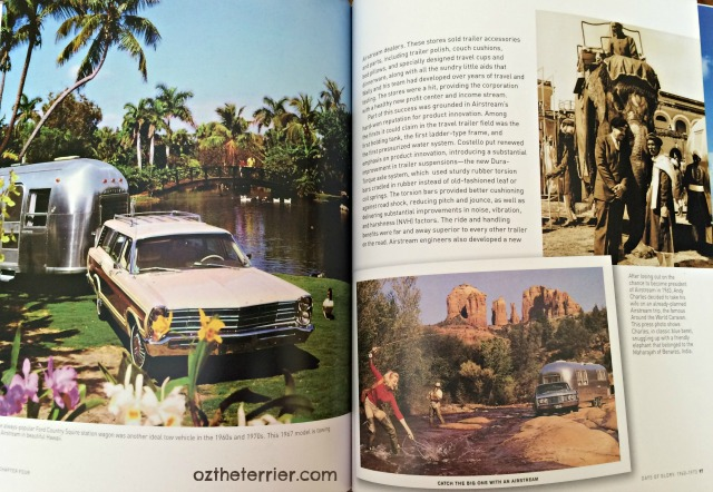 Photo pages in Airstream: America's World Traveler