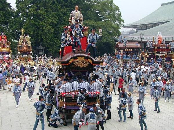 17 Juli Festival Gion Matsuri Jepang