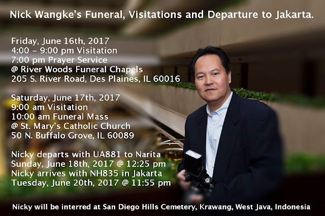 Nick Wangke's Funeral & Visitations