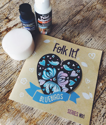 Each folk art kit contains a full colour instruction booklet and a DVD to follow - a painting workshop in your home
