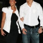 Nereida Gallardo and Cristiano Ronaldo