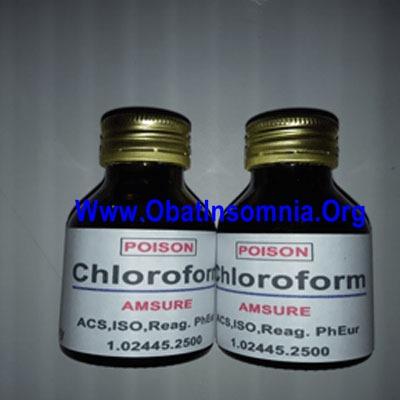 Obat Bius Hirup Chloroform