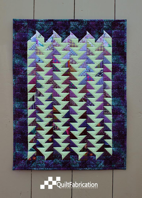 Jagged quilt
