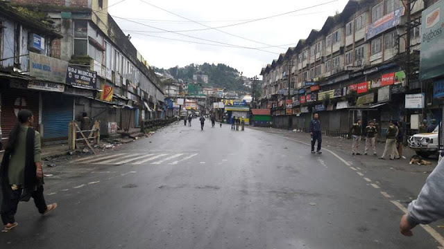 GJM called bandh in Darjeeling 28th Sep 2016