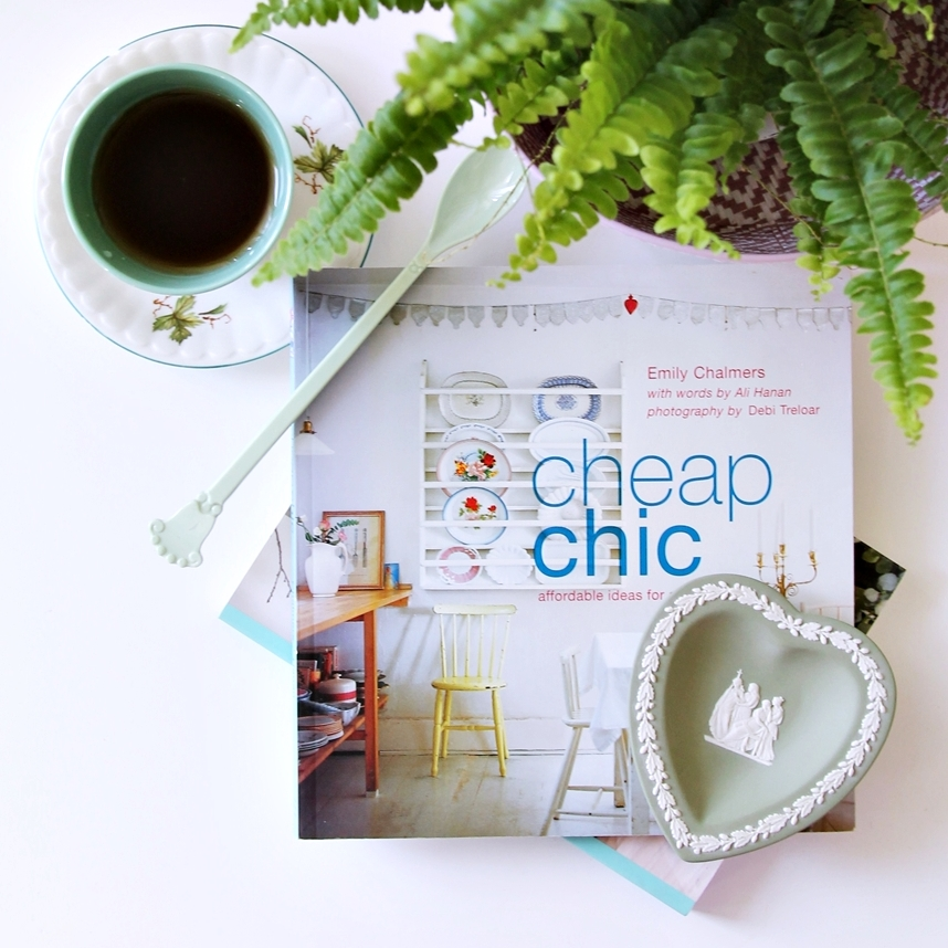 flea market cheap chic interiors style book
