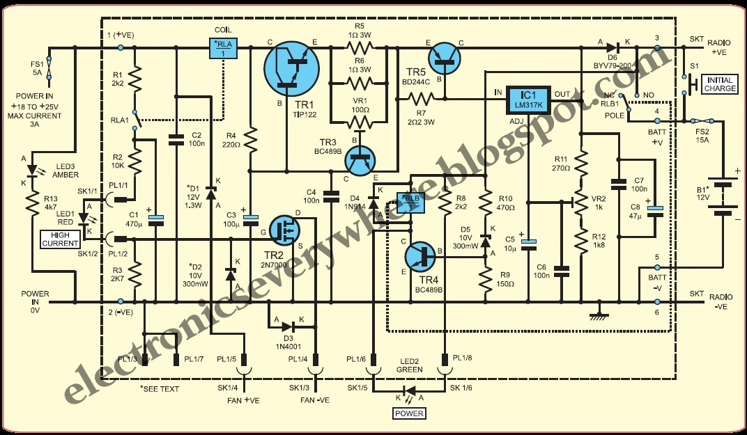 Electronics EveryWhere: 12V 10A High current Power Supply ...