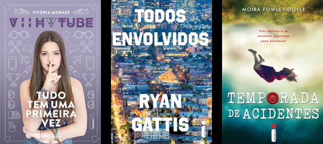 Lançamento de Livros - Março / Editora Intrínseca