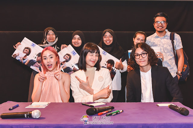 Thai Film Festival in Malaysia with Fans Meet & Greet: Note Panayanggool, Ittisak Eusunthornwattana and Linn Mashannoad Suvanamas