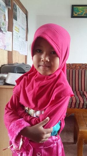 Tazkia Montessori Putri Haryono jaman now. Foto Asep Haryono