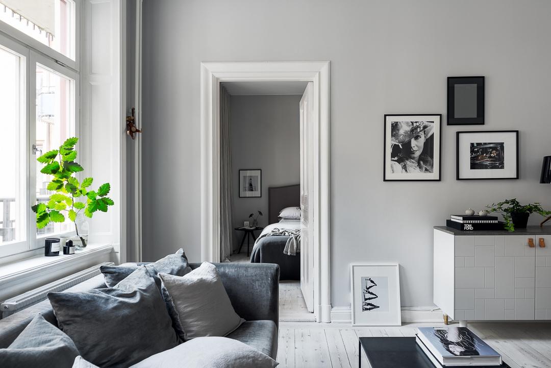d couvrir l 39 endroit du d cor cama eux gris blanc noir. Black Bedroom Furniture Sets. Home Design Ideas