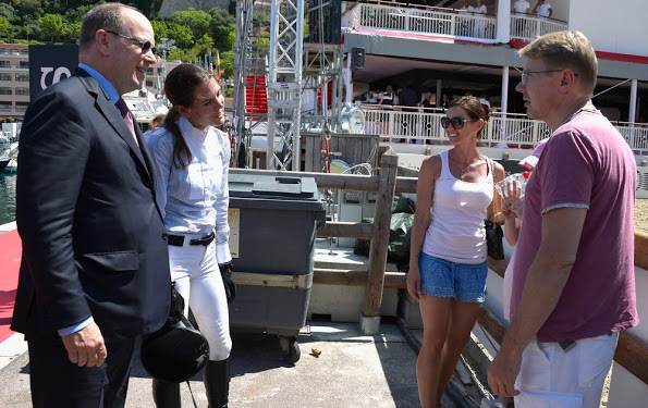 Longines Global Champions Tour Of Monaco, 1st Day