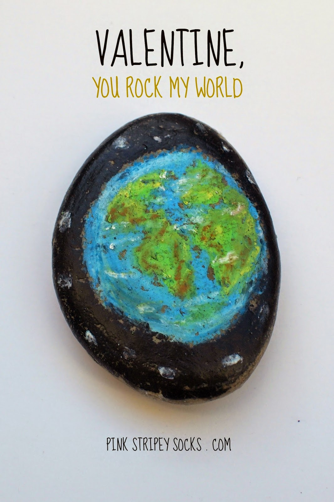 Funny and Pun-y ways to say Happy Valentine's Day- You rock my world rocks