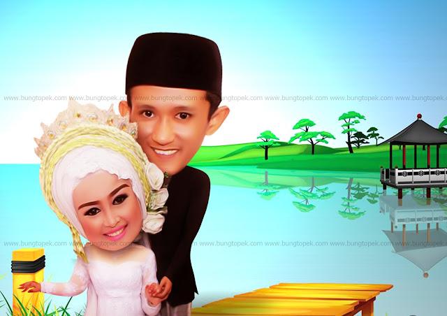 Karikatur Amalia & Husband