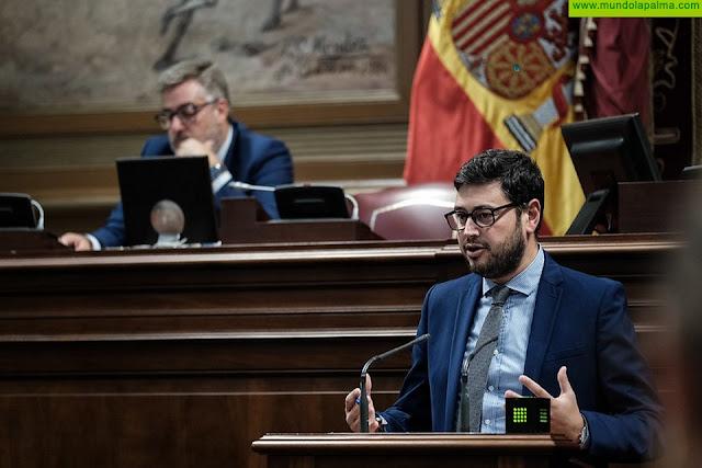 """Qadri: """"No vamos a permitir que el Gobierno de España se lleve los recursos de los palmeros"""""""