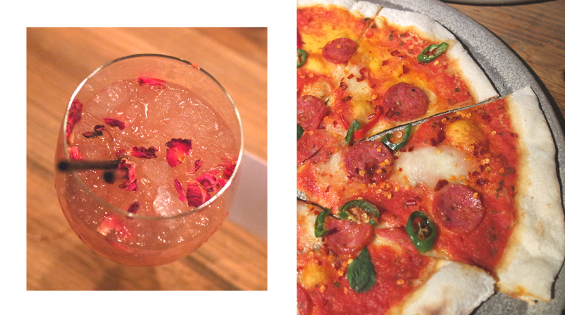Pizza and bespoke cocktail Artisan Manchester