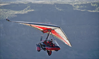 Tom Tabbert trike flying