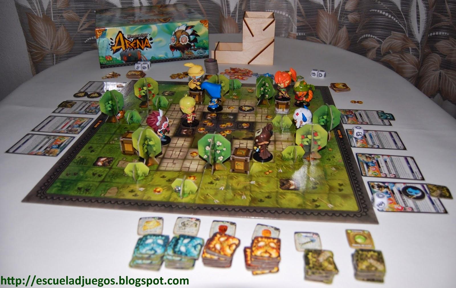Review sobre Krosmaster Arena de Ankama, juego de mesa basado en el mundo de wakfu y dofu