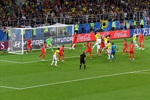 đội tuyển anh đánh bại colombia