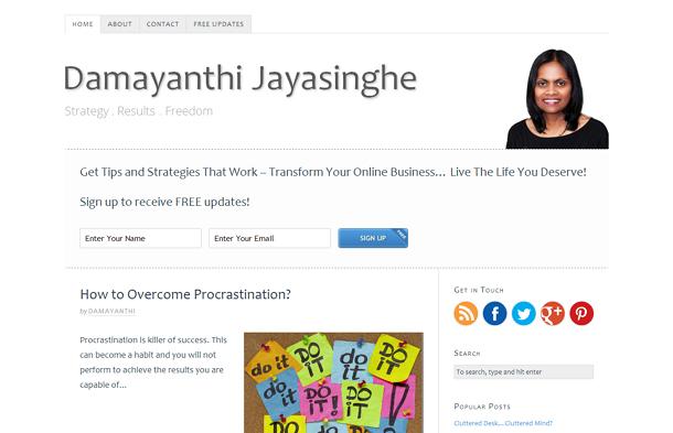 Damayanthi Jayasinghe