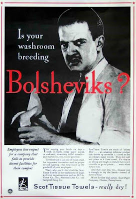 Is your washroom breeding Bolsheviks?