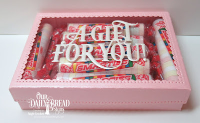 ODBD Custom The Giving Gift Box Dies, ODBD Custom A Gift For You Dies, Gift Box Designed By Angie Crockett