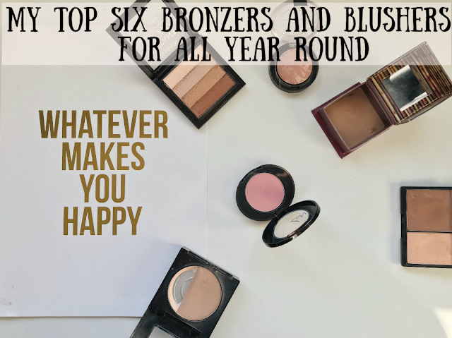 My Top Six Bronzers and Blushers For All Year Round