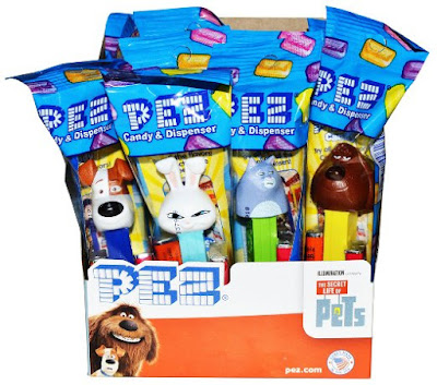 The Secret Life of Pets Party favors-themed Pez dispensers pack of 12