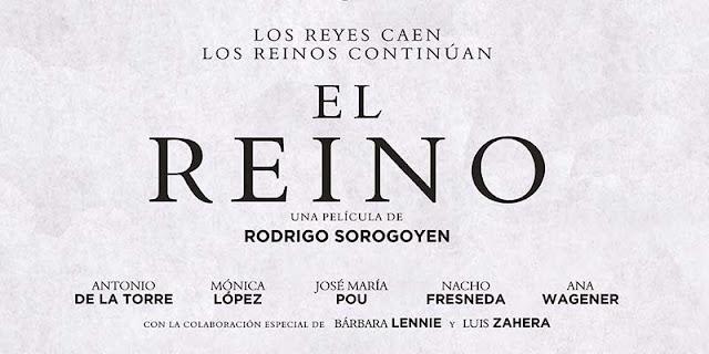 Póster teaser de 'El Reino', la nueva película de Rodrigo Sorogoyen
