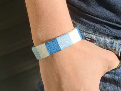 DIY USB bracelet free tutorial